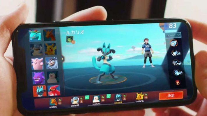 Pokémon Unite Nintendo crossplay