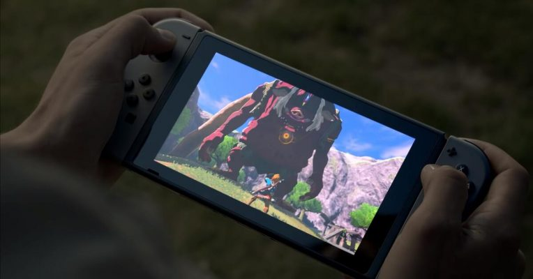 Nintendo Switch mini-led display