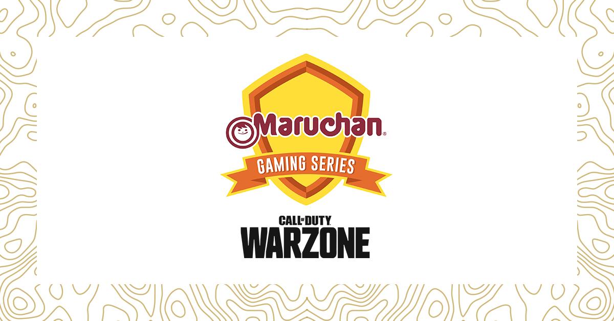 Maruchan Gaming Series Call of Duty: Warzone