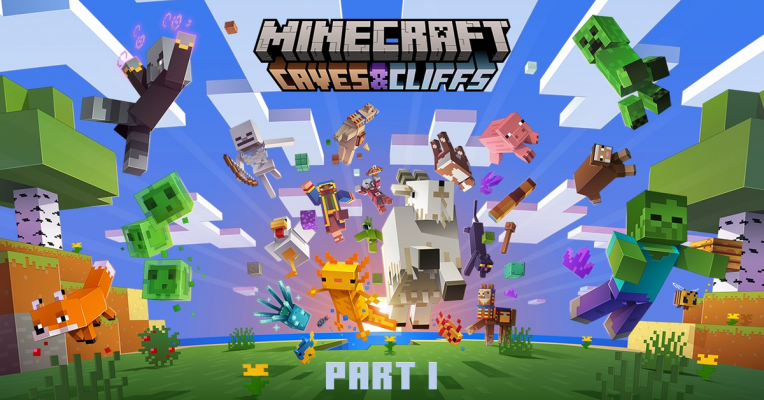 Minecraft Caves & Cliffs part 1