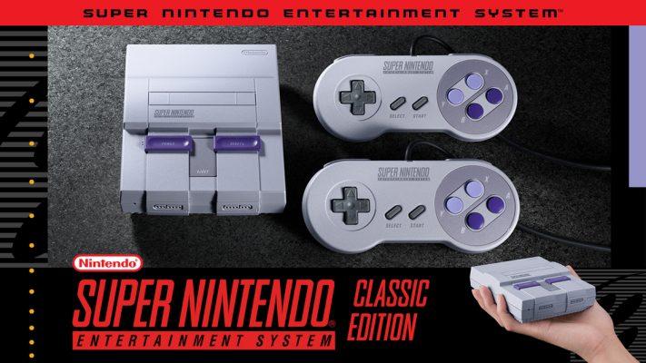 Nintendo Classic mini consoles