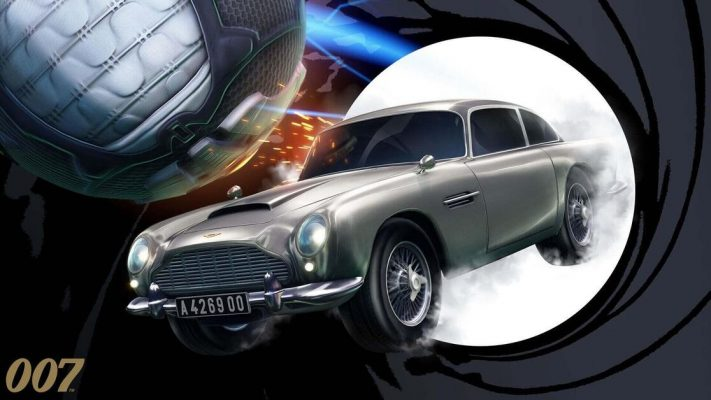 James Bond car Rocket League