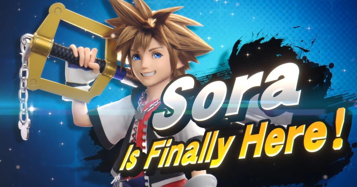 Sora Kingdom Hearts Super Smash Bros. Ultimate
